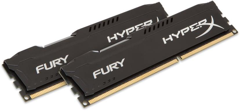 Kingston HyperX FURY Black Series 16GB 1,866MHz DDR3 SDRAM DIMM 240-pin