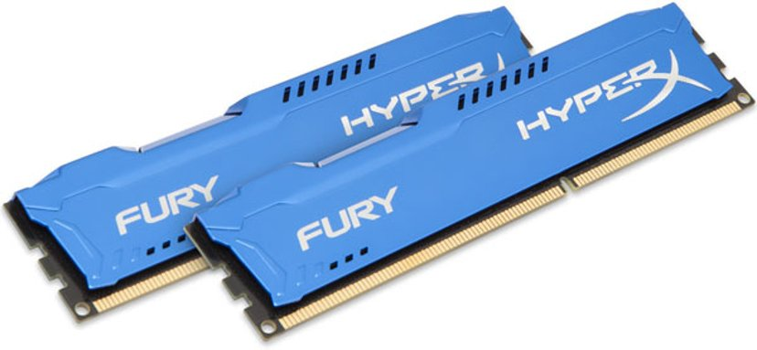 Kingston HyperX FURY Blue Series 8GB 1,866MHz DDR3 SDRAM DIMM 240-pin