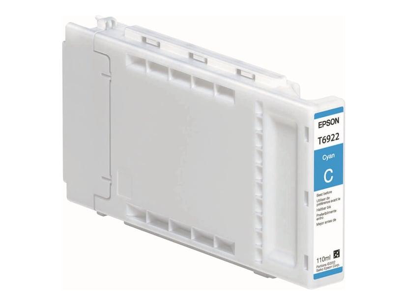 Epson Blekk Cyan 110ml - T3000/T5000/T7000