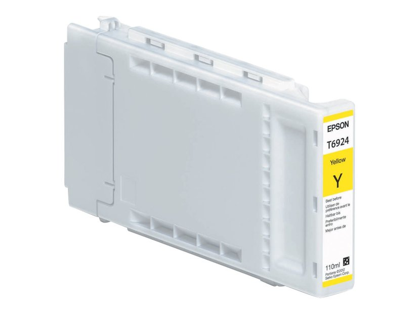 Epson Blekk Gul 110ml - T3000/T5000/T7000