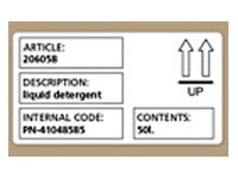 Dymo Etiketter Adresse/ Navneskilt 101x54mm - LW