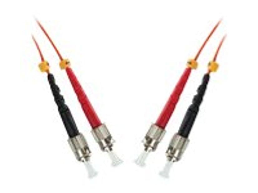 Microconnect Fiberoptisk kabel ST/UPC ST/UPC OM1 1m