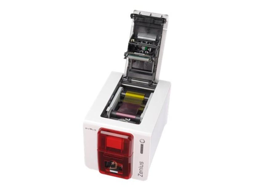 Evolis Zenius Classic USB Red Front