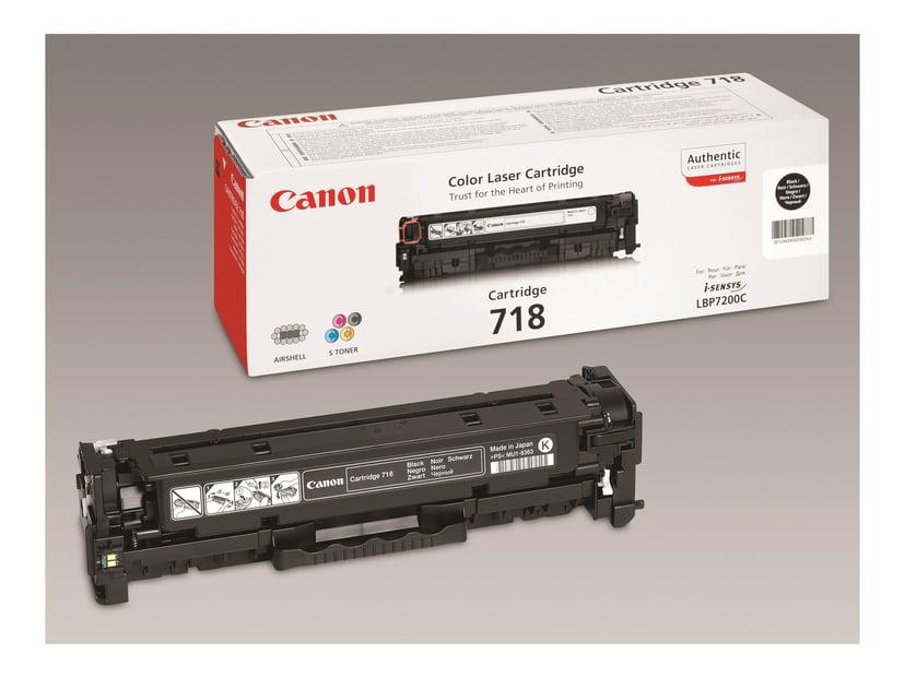 Canon Toner Svart 3,4k Type 718 2-Pack