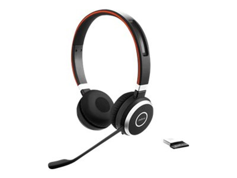 Jabra Evolve 65 MS Stereo Headset Musta