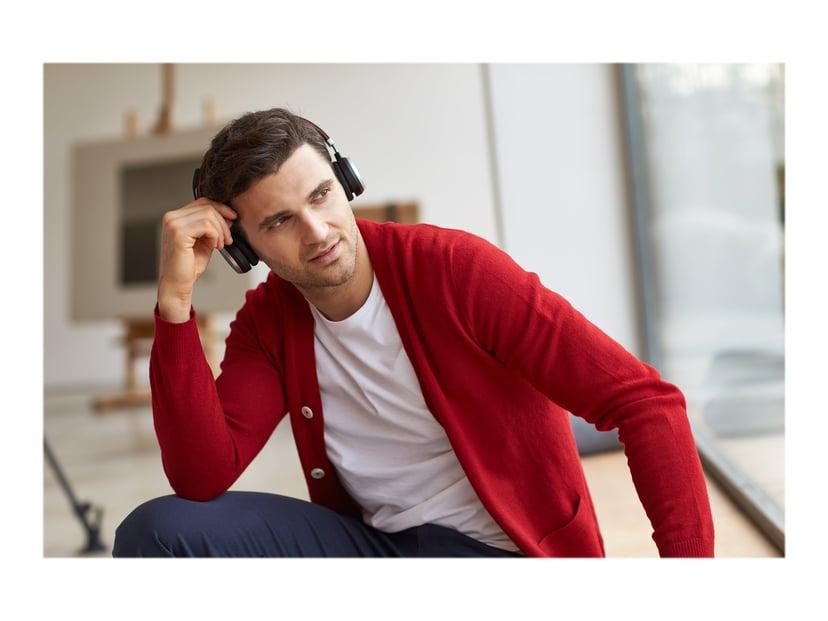Jabra Evolve 65 MS Stereo Headset Svart