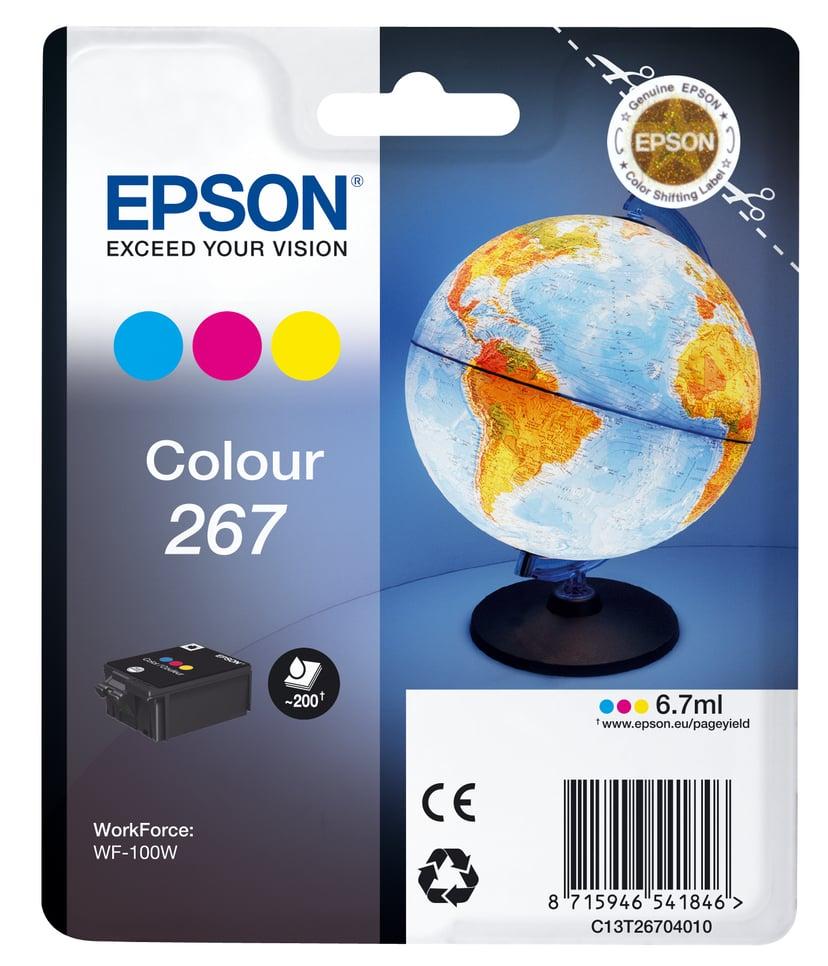 Epson Blæk Farve 267 - WF-100W