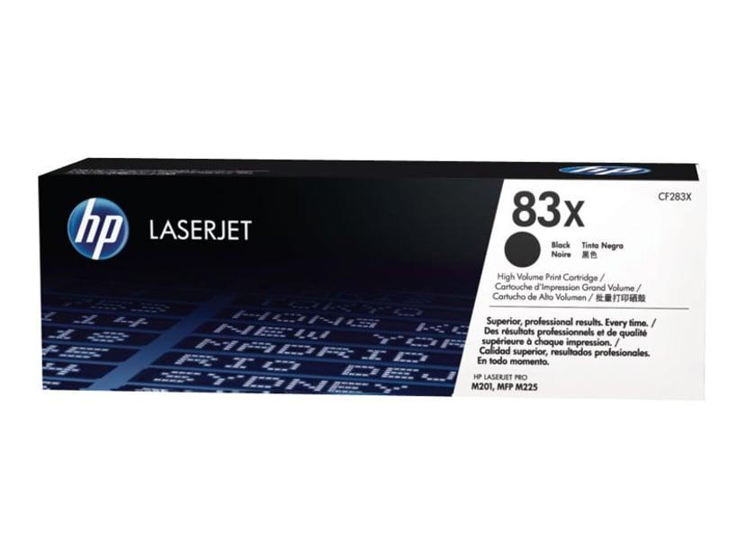 HP Toner Sort 83X 2.2K - CF283X