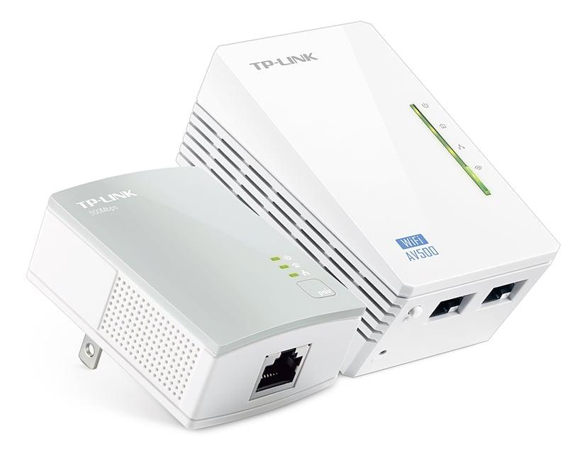 TP-Link TL-WPA4220 AV500 2-Port WiFi Adapter Starter Kit Powerline