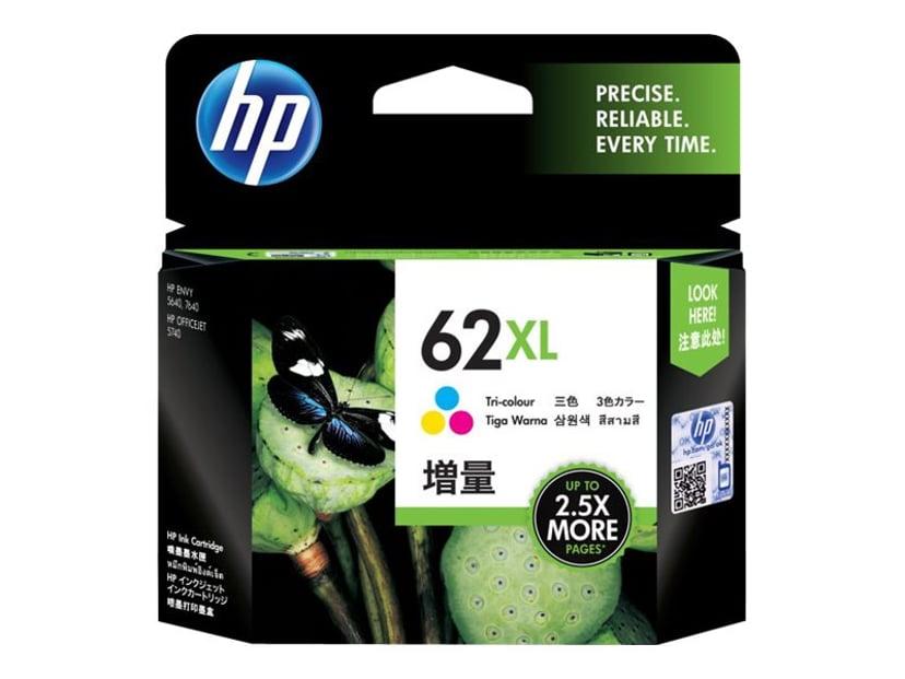 HP Bläck Färg No.62XL
