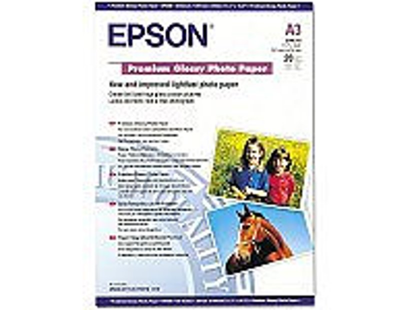 Epson Papir Photo Premium Glossy A3 20-Ark 255g