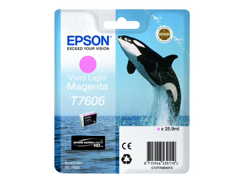 Epson Bläck Vivid Ljus Magenta T7606