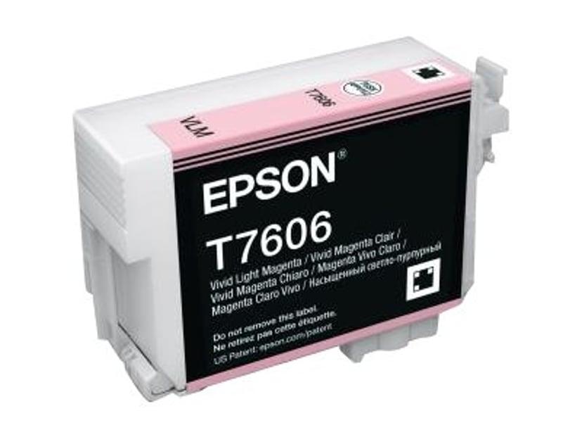 Epson Blæk Vivid Ljus Magenta T7606
