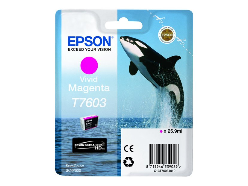Epson Blekk Vivid Magenta T7603