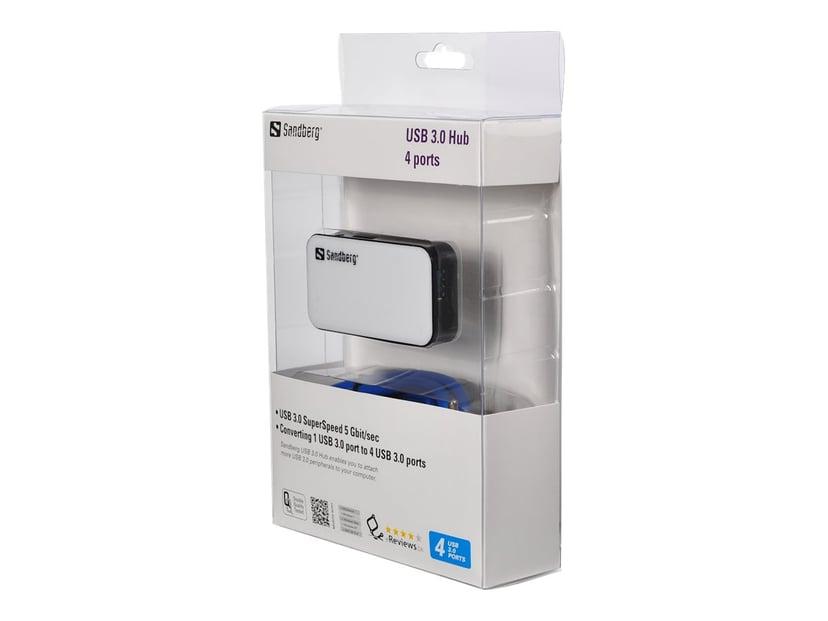 Sandberg USB 3.0 Hub 4 ports USB Hub