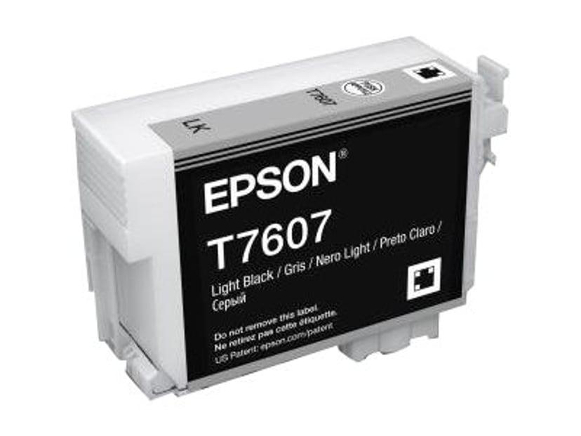 Epson Blæk Ljus Sort T7607