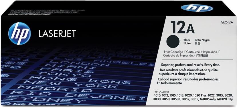 HP Toner Zwart 12A 2K - Q2612A