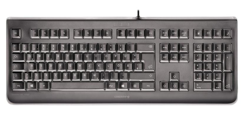 Cherry KC 1068 Kabling Tastatur Nordisk Sort