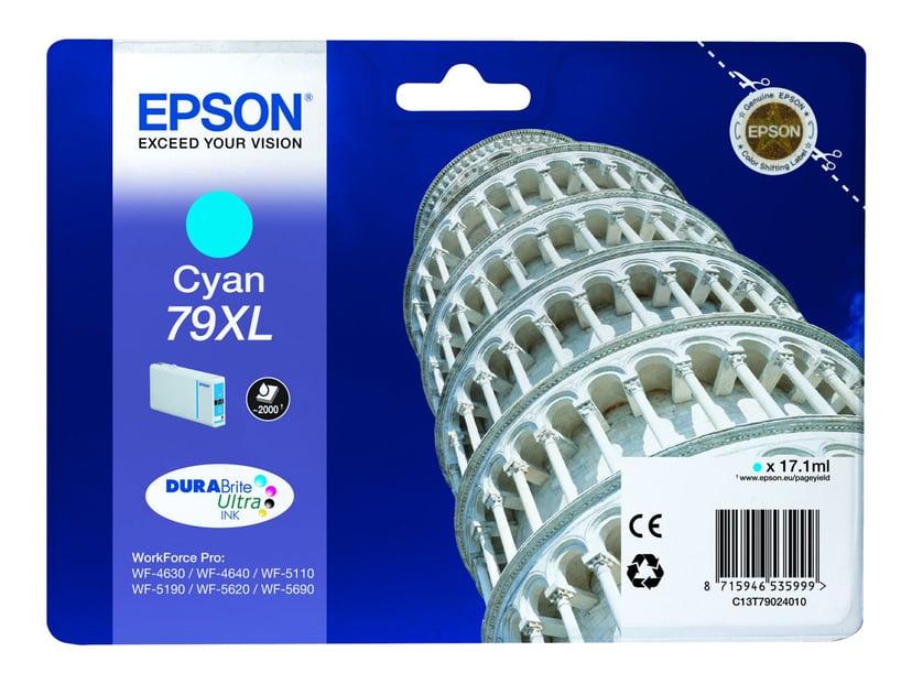 Epson Blæk Cyan 2K 79XL - WF-4630DWF