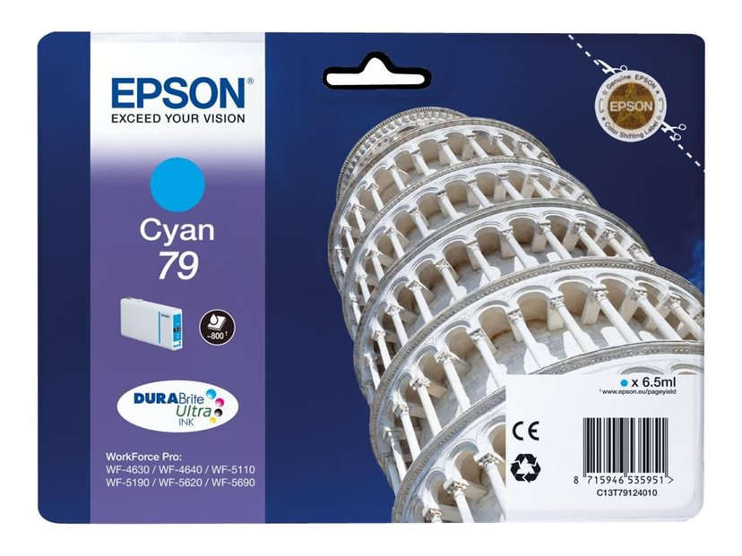 Epson Blæk Cyan 800 Pages 79 - WF-4630DWF