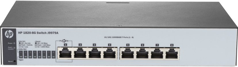 HPE OfficeConnect 1820 8xGbit, Web-mgd Switch