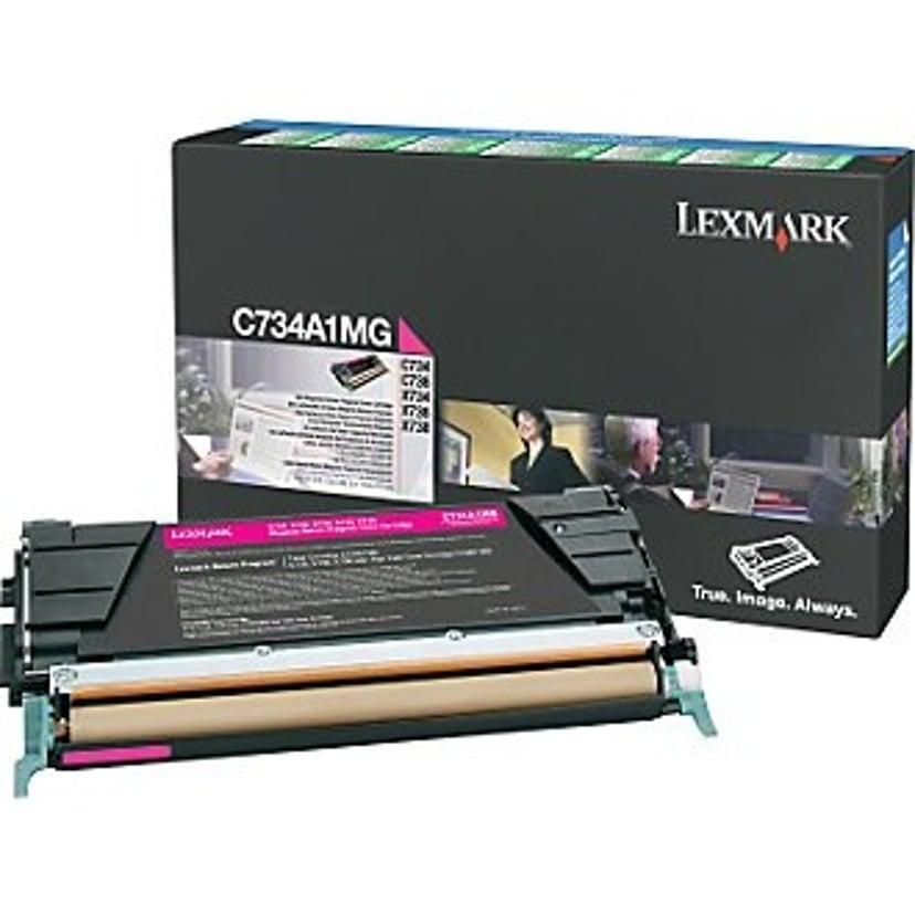 Lexmark Toner Magenta 6k - C73X X73X Return