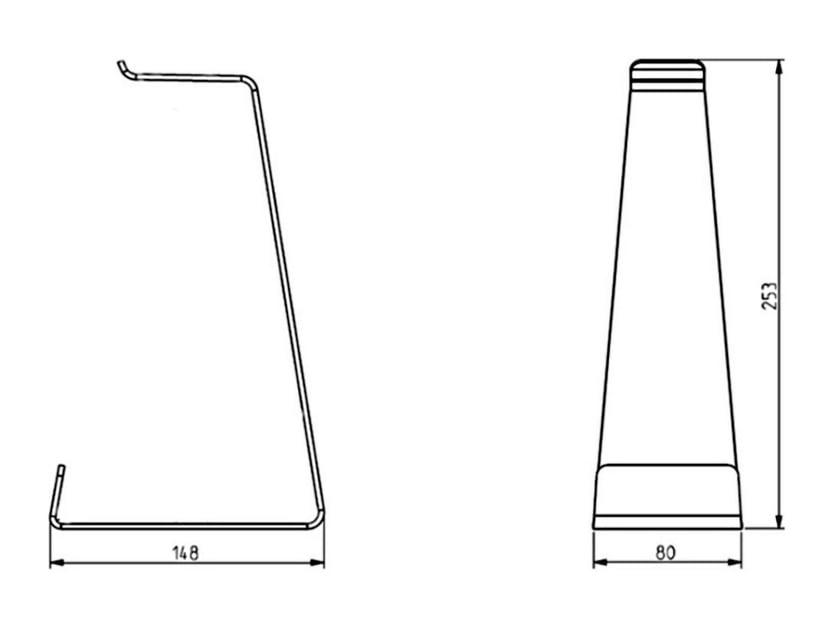 Multibrackets M Headset Holder Table Stand Svart