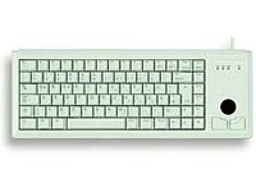 Cherry Compact G84 4400 Kabling Tastatur Engelsk - USA Grå
