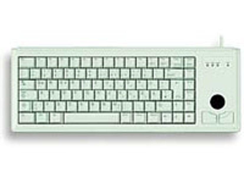 Cherry Compact G84 4400 Tastatur Kablet Engelsk - USA Grå