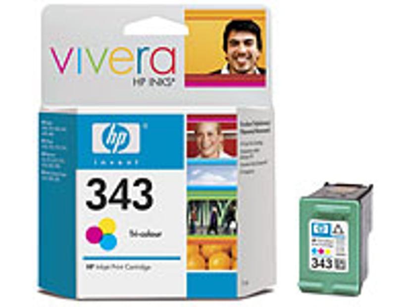HP Blæk Farve No.343
