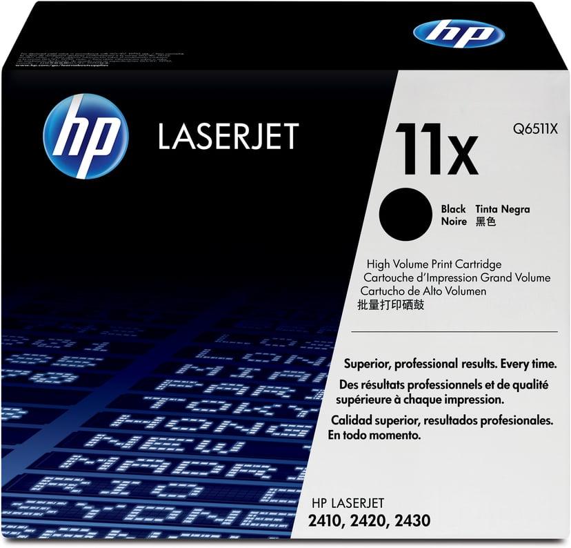 HP Värikasetti Musta 12K - Q6511X
