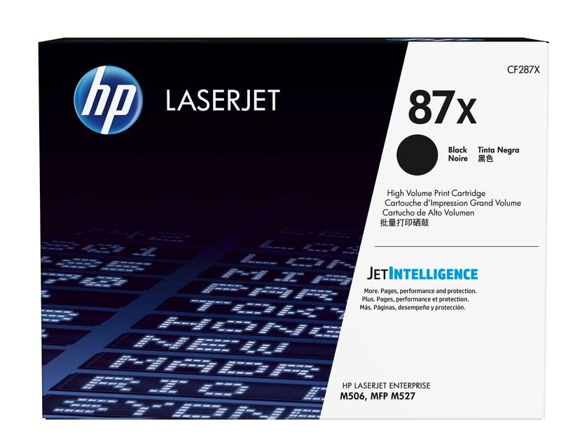 HP Toner Svart 87X 18K - CF287X
