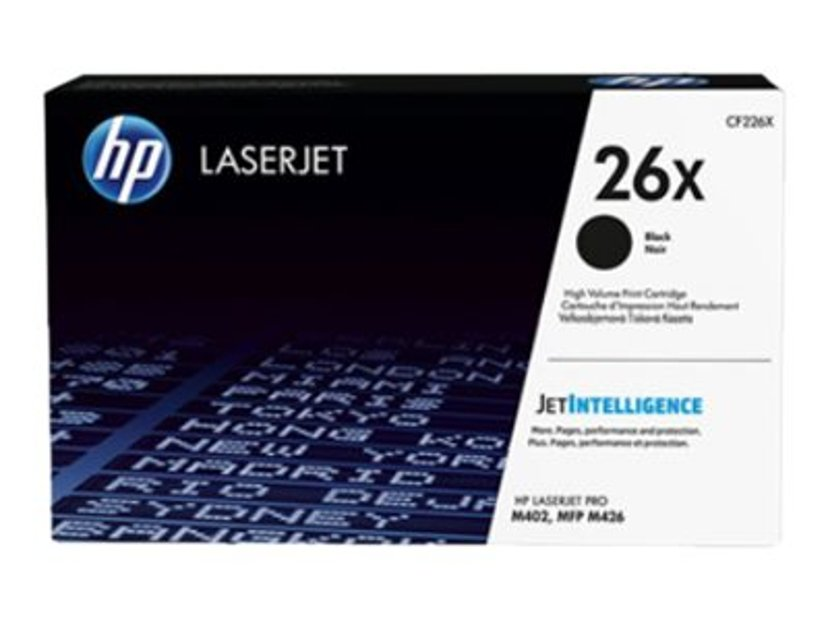 HP Toner Svart 26X 9K - CF226X
