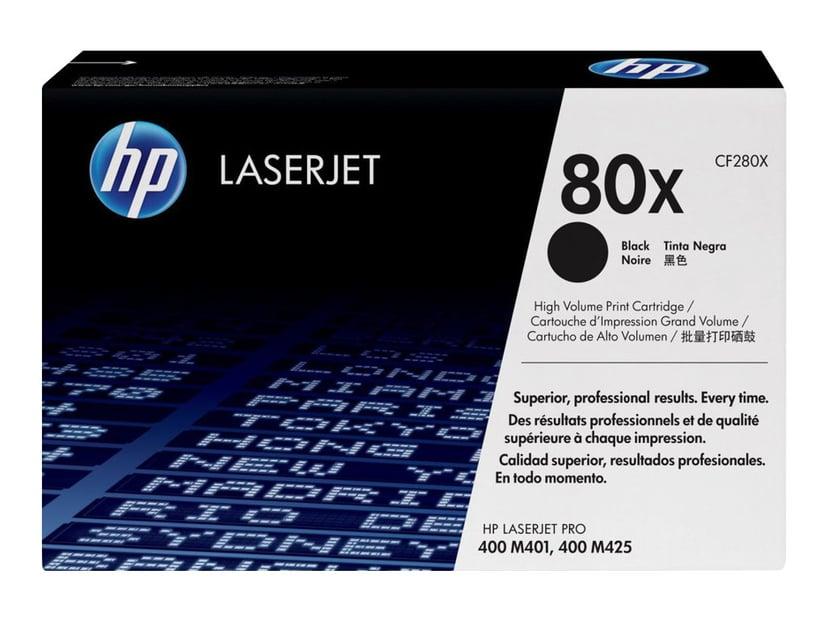 HP Toner Svart 80X 6.9K - CF280X