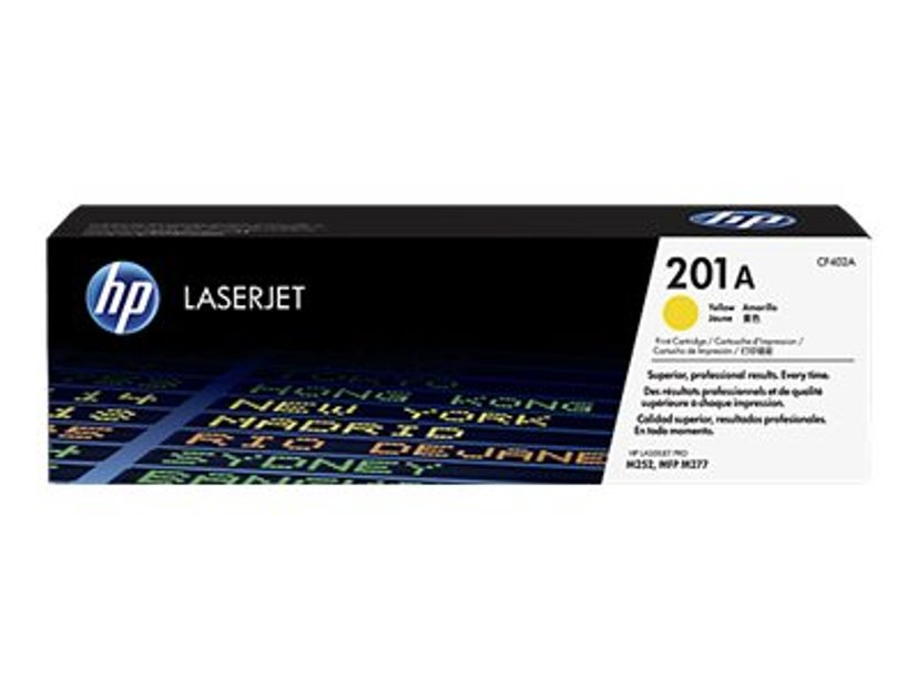 HP Värikasetti Keltainen 201A 1.4K - CF402A
