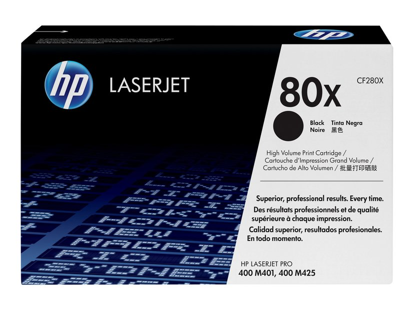 HP Toner Sort 80X 6.9K - CF280X