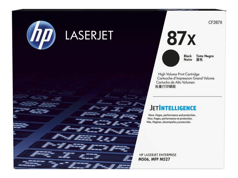 HP Toner Sort 87X 18K - CF287X