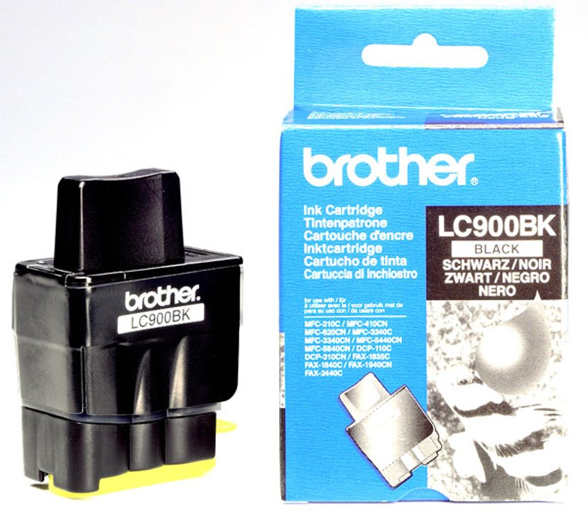 Brother Muste Musta - DCP110C/MFC210C
