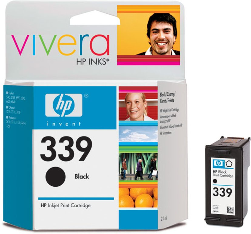HP Inkt Zwart No.339 21ml