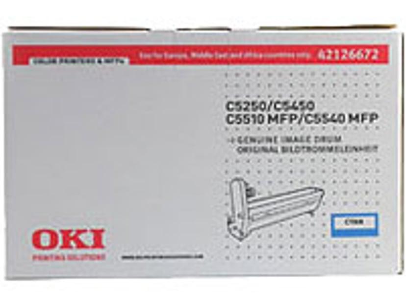 OKI Tromle Cyan - 5250/5450/5510/5540