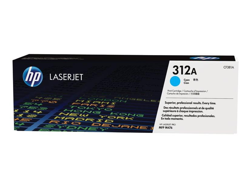HP Toner Cyan 312A 2.7K - CF381A #KÖP
