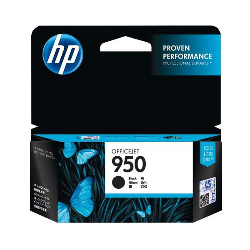HP Blekk Svart No.950 - Pro 8100 #Köp