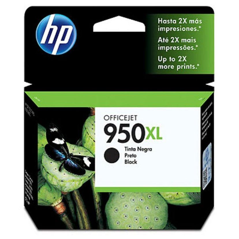 HP Blekk Svart No.950XL - Pro 8100 #Köp