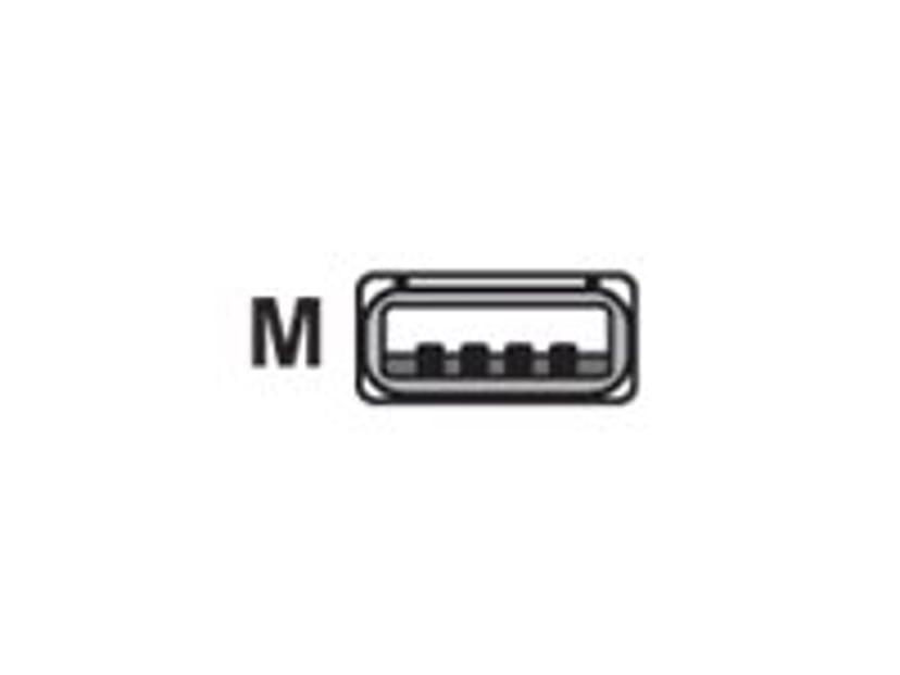 Datalogic Kabel USB TPUW Rak 2m Svart