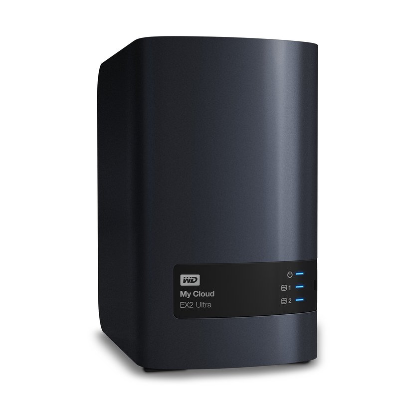 WD My Cloud EX2 Ultra 8TB Personlig molnlagringsenhet