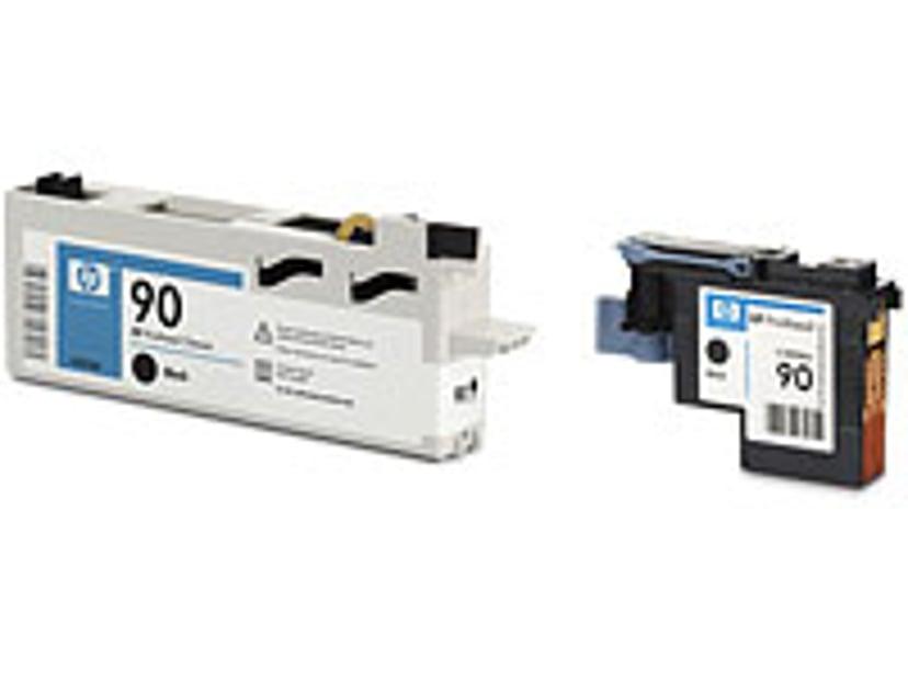 HP Printhead/Cleaner No.90 Svart TO DJ 4000