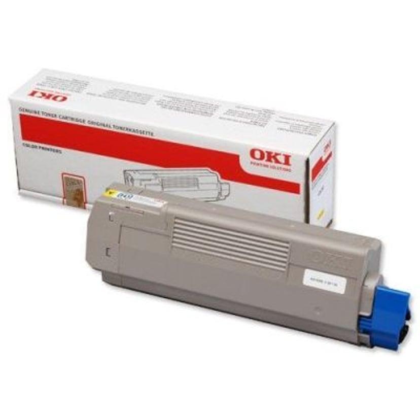 OKI Toner Gul 6k - C610