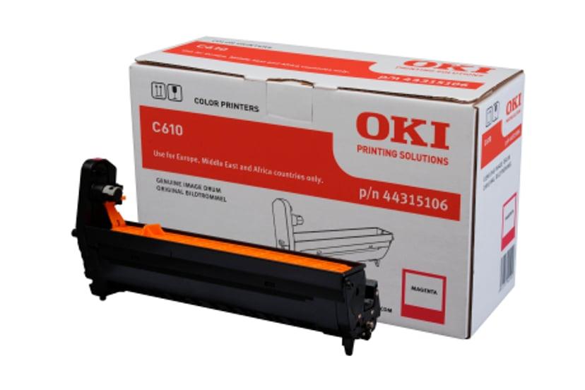 OKI Trommel Magenta 20K - C610