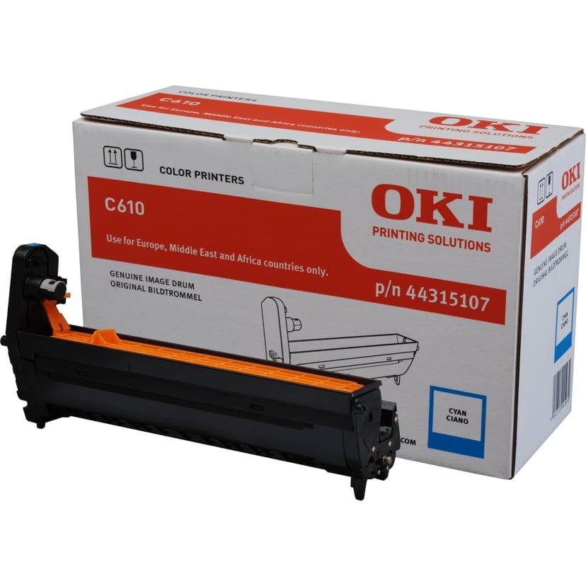 OKI Tromle Cyan 20K - C610