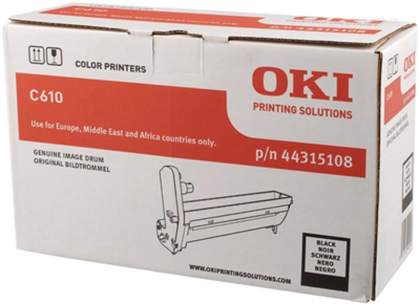 OKI Tromle Sort 20K - C610